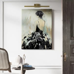 'Remembering You' - Wrapped Canvas Painting Print'Remembering You' - Wrapped Canvas Painting Print