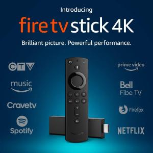 $54.99(原价$69.99)Amazon Fire TV Stick 4K 智能语音电视串流棒
