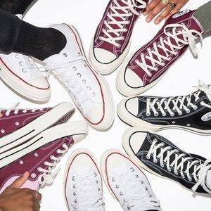 6.5折 一双百搭到底超好价:Converse 经典帆布鞋潮鞋热卖