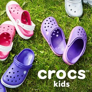 Extra 25% OffLast Day: Sitewide Kids Shoes @ Crocs