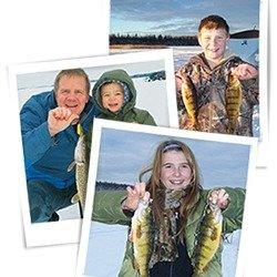 免费钓鱼AB省本周末可以免费钓鱼,无需鱼牌