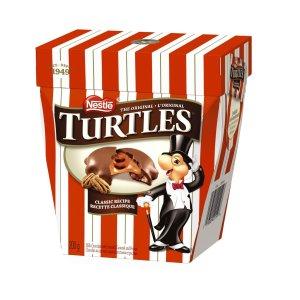 $2.74 (原价$10.98)手慢无:Nestle 雀巢 Turtles 乌龟 焦糖山核桃牛奶巧克力