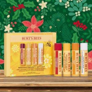 无门槛8折Burts Bees 超好用的小蜜蜂唇膏 超值礼盒全面大促