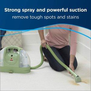 $88.88(原价$109.98)Bissell 必胜 小绿 1400J 便携式深层地毯清洁机