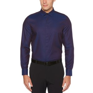 Perry EllisResist Spill Solid Shirt