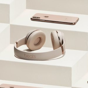 现价£159.99(原价£249.95)Beats Solo3  无线头戴式耳机(玫瑰金)特卖