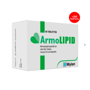 30片装€15 60片€29ArmoLIPID 降胆固醇血脂片 调节三高 平稳血脂