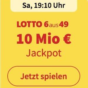 周三/六开奖  6次机会仅€1Lotto 6aus49 奖金累计1000万欧元 无需身份验证 快试试运气