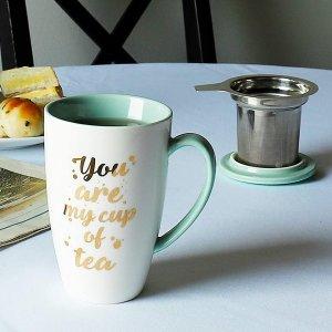 Sweese 带过滤器茶杯,配杯盖