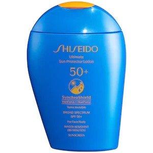 Shiseido蓝胖子防晒霜