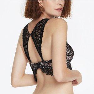 一套$69 高级蕾丝舒适的体验Eve's temptation 新款美背高级蕾丝内衣热卖
