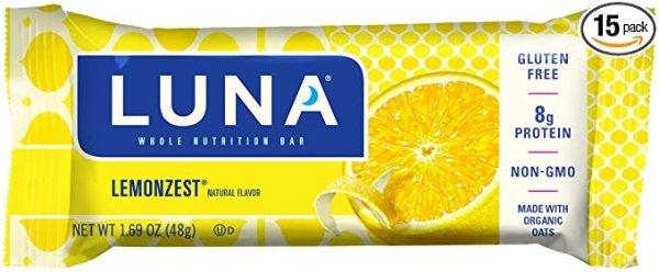 LUNA PROTEIN 柠檬蛋白质能量棒 12条装