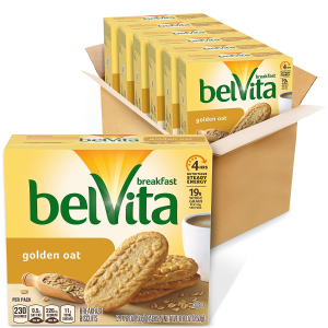 belVita Golden Oat Breakfast Biscuits 6boxs