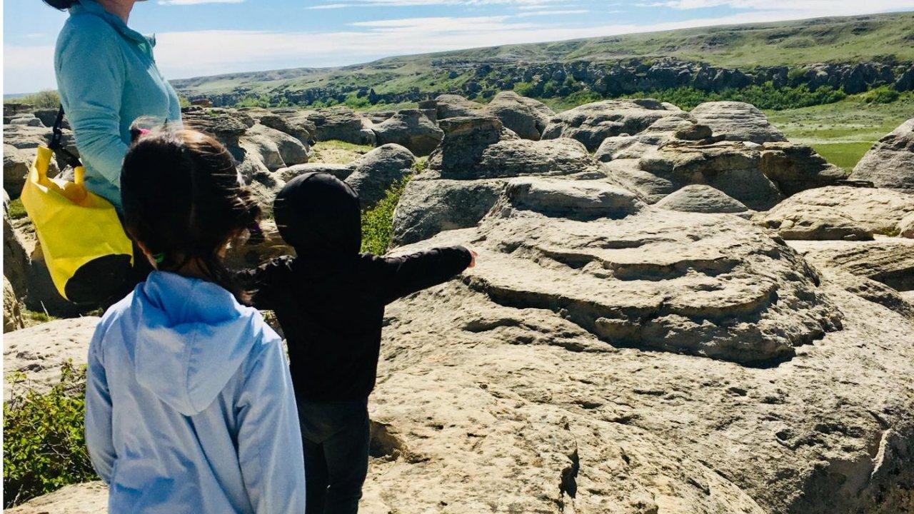 记录人生第一次露营⛺️⛺️⛺️ Writing-on-stone provincial park 省立石刻公园 2021.05.30-2021.06.01