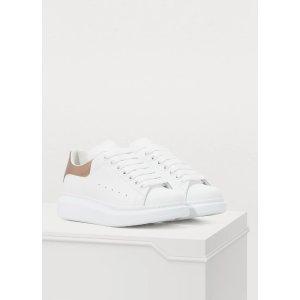 Alexander McQueen再拼单$10享8.5折金尾小白鞋