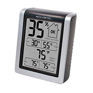 $8.99 (原价$29.99)AcuRite 室内数字湿度温度计
