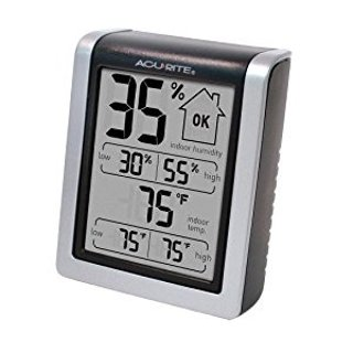 $8.99AcuRite 00613 Humidity Monitor with Indoor Thermometer, Digital Hygrometer and Humidity Gauge Indicator @ Amazon