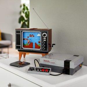 $229.99 送独家礼补货:乐高 超级玛丽系列 NES 任天堂红白机 71374,8/1新品