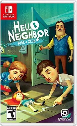 《你好邻居捉迷藏》 Nintendo Switch 实体版