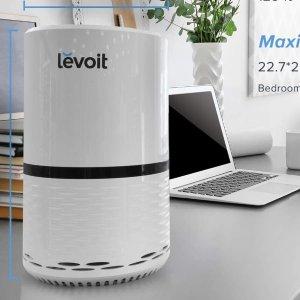 折后€55.99 德亚1万+好评史低价:Levoit 空气净化器 清除99.97%空气颗粒 超静音带小夜灯