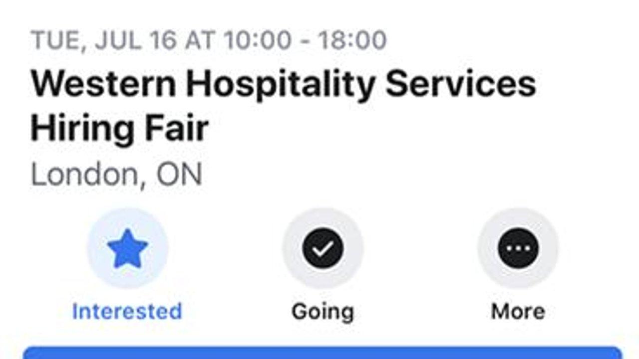 我参加了一场加拿大的招聘会