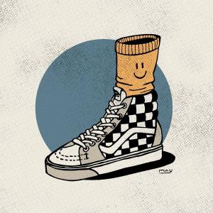 5折起 潮流斜挎包$19VANS官网 滑板鞋、帆布鞋限定特惠 棋盘格一脚蹬$80