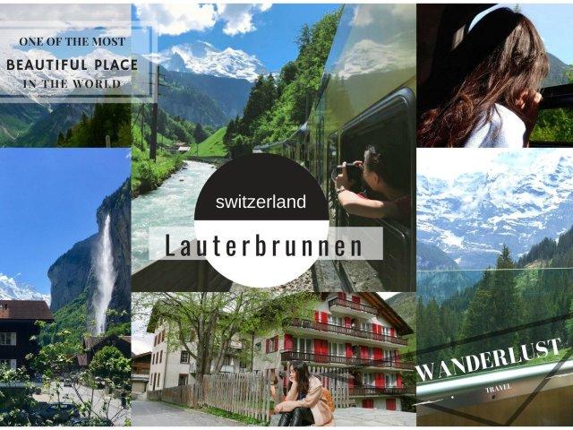 世界上最美丽的人间仙境瑞士LAUT...