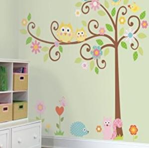 $11.25(原价$53)RoomMates儿童房墙面装饰贴纸