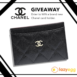 For FreeChanel Card Holder@lazyegg