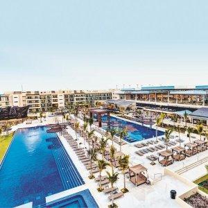 $162起  2018年坎昆全包酒店Top10墨西哥坎昆5星级全包度假村 Royalton Riviera Cancun Resort
