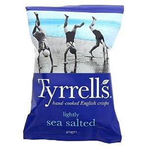TYRRELLS海盐味 24包 x 40G