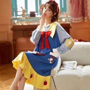 限时7折 仅€13收封面睡裙白雪公主家居服热促 爆款斗篷也在线 迪士尼在逃公主集合啦
