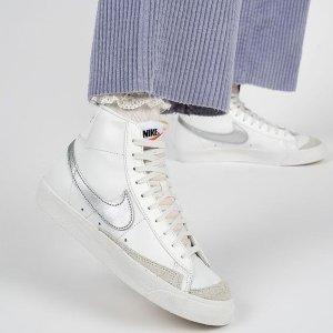 2.8折起 拼色Air Force 1仅£67Nike、adidas、Converse等热门小白鞋专场大促 春季必备