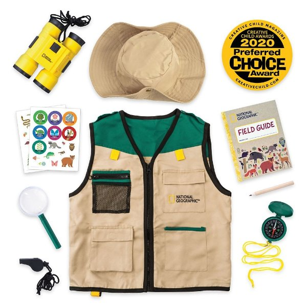 儿童户外探险服饰及配件套装