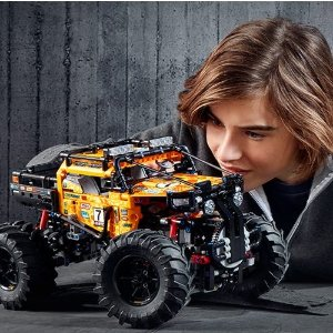 $163.99 + Free ShippingDealmoon Exclusive: LEGO TECHNIC: 4X4 CRAWLER (42099)