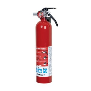 First Alert Standard 2-1/2 lb. Fire Extinguisher For Household OSHA/US Coast Guard Agency Approva