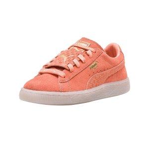 PumaPuma 女童鞋麂皮运动鞋