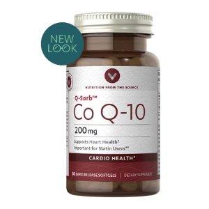 Buy 1 Get 1 FreeCo Q-10 200mg at Vitamin World