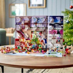Lego9月1日上市2021圣诞倒计时日历 41690 | 好朋友系列