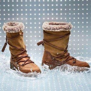 再降 低至5折+包邮 女靴直降$140GEOX官网 会呼吸的鞋子,意大利品牌,多州免税