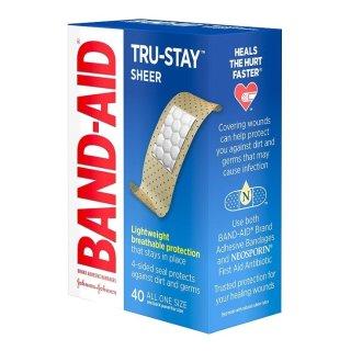 $1.98白菜价:Band-Aid 邦迪透气创可贴 40片 新包装