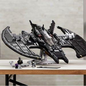 Lego10/21 VIP提前购1989 蝙蝠战机 76161 | 蝙蝠侠系列