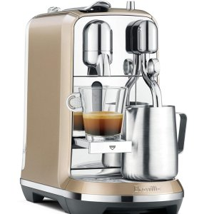 Breville Nespresso 合作款 Creatista 奶泡咖啡一体机