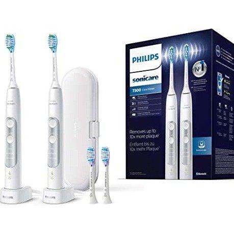 Sonicare ExpertClean 7300 电动牙刷2支