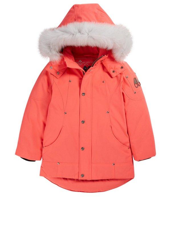 儿童派克大衣