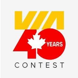 赢限量钢铁车票+免费乘坐全景列车加拿大国营铁路公司 Via Rail 四十周年庆大抽奖
