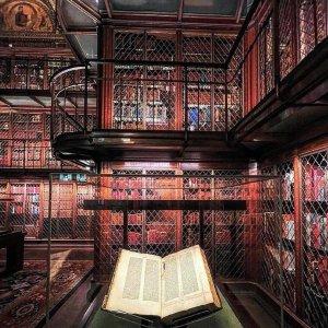 成人票$22纽约小众博物馆 JP摩根私人书房 珍本收藏 感受有钱人的乐趣