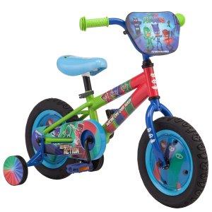 $49.00 美亚相似款$85Schwinn 宝宝第一辆12英寸 PJ Masks自行车