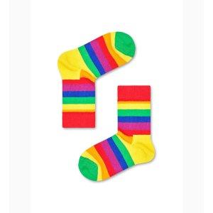 Happy Socks彩虹 童袜