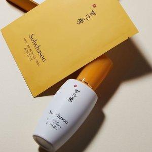 满额送美白系列5件套Sulwhasoo 全场美妆护肤热卖 收润燥精华